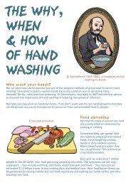 The why, when and how of hand washing - Microbiology Online