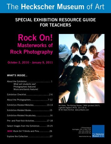 Rock On! - the Heckscher Museum of Art