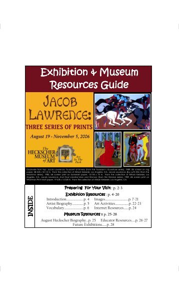 Jacob Lawrence Educator Packet - the Heckscher Museum of Art