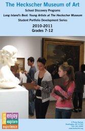 School Discovery Program Brochure 2009-2010 - the Heckscher ...