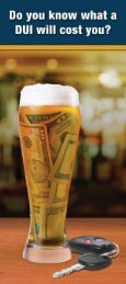 Do You Know What a DUI Will Cost You? - Plan2Live