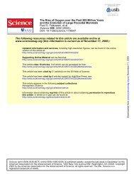 Falkowski et al., Science 2005