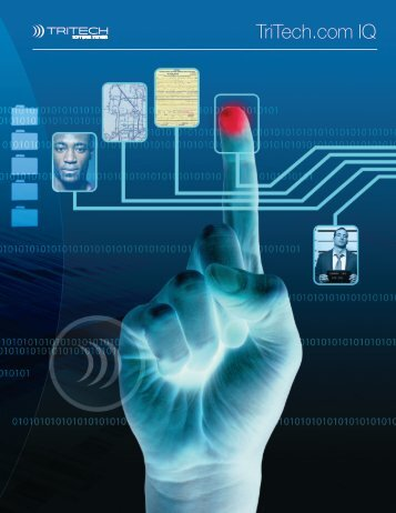 Intelligence driven public safety - TriTech Software Systems