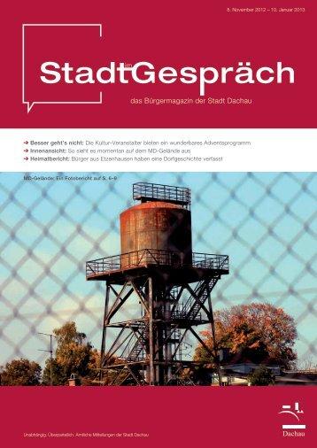 Ihr kultureller Adventskalender - Dachau
