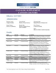 Catalog Supplement - Canyon Country.pdf - Charter College