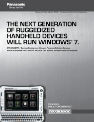 the neXt generatiOn OF ruggeDiZeD hanDhelD ... - Rapid Access