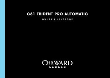 C61 trident PrO AUtOMAtiC - Christopher Ward