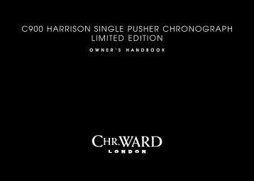 C900 Harrison single PusHer CHronograPH ... - Christopher Ward