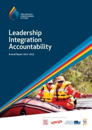 Leadership Integration Accountability - The Fire Services ...
