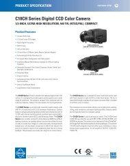 C10CH Series Digital CCD Color Camera - Crockett Sales Company