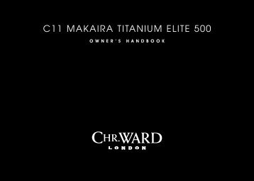 C11 MAKAIRA TITANIUM ELITE 500 - Christopher Ward