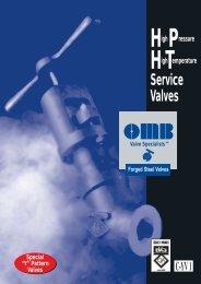 OMB - Catalogo C-YV 1 - Lockwood International