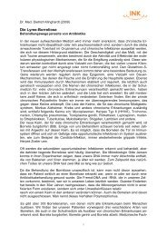 Klinghardt Lyme-(Borrelien) - INK