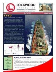 Floating Production, Storage, and Offloading - Lockwood International