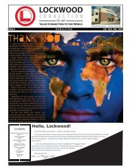 Issue 8 - Thank You ...From The Children - Lockwood International
