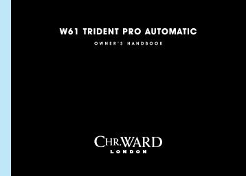 w61 trident PrO AUtOMAtiC - Christopher Ward