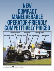 Compact And Priced Right - Hot-Mix Magazine