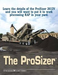 Prosizer-2612V Technical Data Sheet