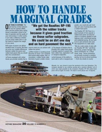 How To Handle Marginal Grades - Hot-Mix Magazine