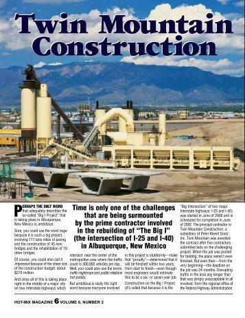Twin Mountain Construction - Hot-Mix Magazine