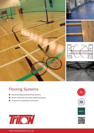 Flooring Systems Brochure Download (938Kb) - Triton Chemicals