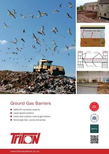 Ground Gas Barriers Brochure Download - Triton Chemicals