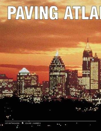 Paving Atlanta at Night - Hot-Mix Magazine