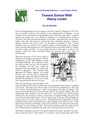 Toward School With Heavy Looks - Vale and Downland Museum ...