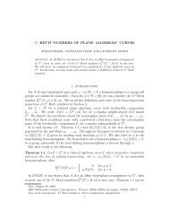 L^2-Betti numbers of plane algebraic curves - Constance Leidy