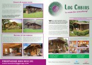 Chalet and Holiday Homes 'a room for everything' - Western Log ...