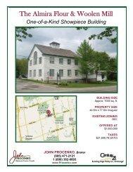 The Almira Flour & Woolen Mill - John Procenko