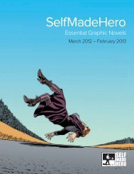 Catalogue 2012 (PDF | 4Mb) - SelfMadeHero