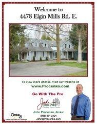 4478 Elgin Mills Rd. E. - John Procenko