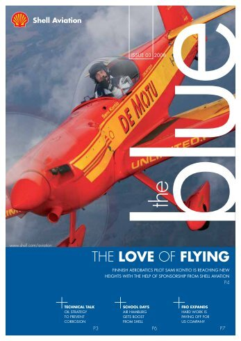 THE LOVE OF FLYING