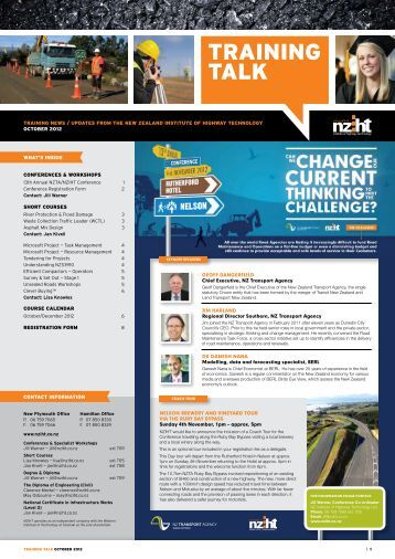 01/10/2012 - New Zealand Institute of Highway Technology - NZIHT