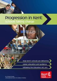 Progression in Kent: - University of Derby Online Research Archive