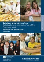54014 ICeGS Building a Progression Culture.pdf - University of ...