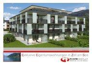 Exklusive Eigentumswohnungen in Zell am See