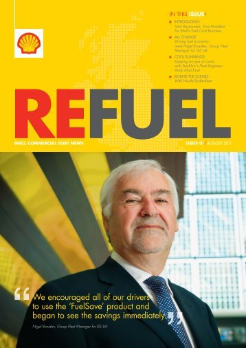 Refuel Magazine - Summer 2011