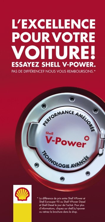 essayez shell v-power. - Shell Luxembourg