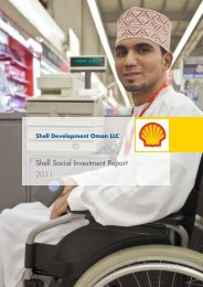 Shell Social Investment Report