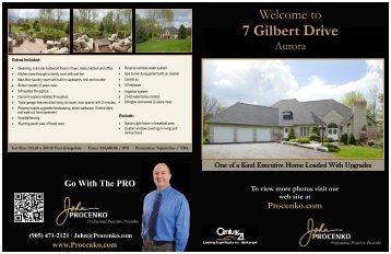7 Gilbert Drive - John Procenko