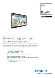 BDL3210Q/00 Philips LED-display