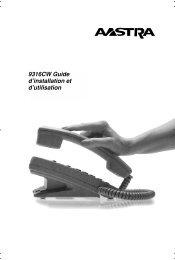 9316CW Guide d'installation et d'utilisation - Florence Inc.