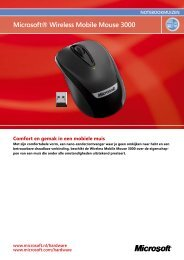 Microsoft® Wireless Mobile Mouse 3000