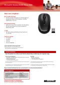 Microsoft® Wireless Mobile Mouse 3000 - Page 2
