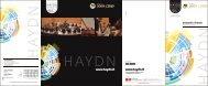 Vedi file in allegato - Orchestra Haydn Orchester