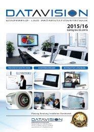 DataVision Katalog 2015/16
