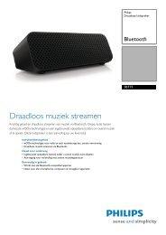 SBT75/12 Philips Draadloze luidspreker - Icecat.biz