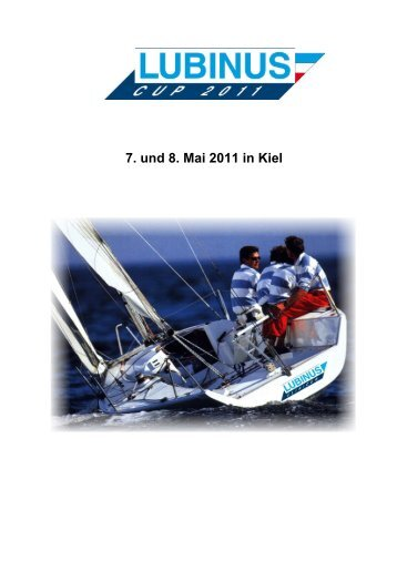 7. und 8. Mai 2011 in Kiel - Platu25.de